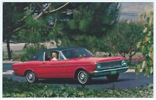 1968 Ford FALCON FUTURA Sports COUPE Original Dealer Advertising Card UNUSED  ^