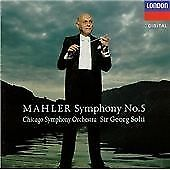 MAHLER - SYMPHONY No. 5 CD (Sir Georg Solti) - NEW & SEALED
