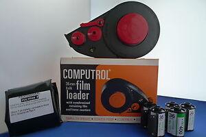 NEW KIT FELTLESS 35mm BULK FILM LOADER+7.2mt ULTRA FINE FILM+5 EMPTY CASSETTE