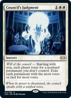Council's Judgment Rare MTG Magic Karte Double Masters M/NM