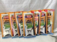 Lot Of 7 Packages BIC #2 Pencil Xtra Fun, 0.7 mm, Assorted - 18/Pack. (E5)