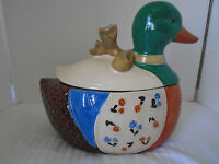 Vintage DUCK Cookie JAR B&D Japan