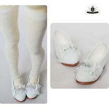 1/4 BJD Shoes MSD Dollfie lace Lolita white Shoes DREAM MID SOOM DOD AOD LUTS DZ