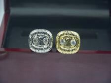 2 Pcs Ring 1975 1975 Pittsburgh Steelers World Championship Ring //