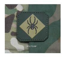 Morale Patch - Milspec Monkey - RED BACK ONE Logo - MULTICAM version PVC