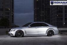 20x9 +25 20x11 +28 Rohana RC22 5x112 Black Wheel Fit Mercedes Benz S550 2009 Rim