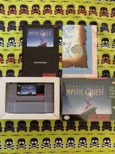 New listing Final Fantasy: Mystic Quest (Super Nintendo, Snes) Complete in box Map
