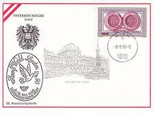 Austria 1990 London Stampex Postcard Special CDS VGC