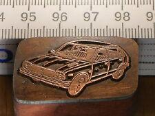 HONDA CIVIC   schöner Oldtimer Stempel / Siegel aus Metall