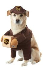 NEW Chasing Fireflies UPS Delivery Driver Dog Size Small Halloween Pet Costume