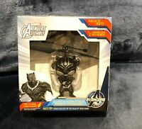 Marvel Avengers Black Panther Levitating Hero Compatible w/ Heli Remote NEW