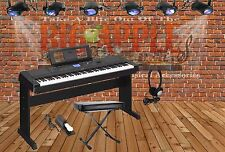 Yamaha DGX-660 Portable Grand Digital Piano w/ Stand AND BONUS PACK