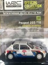 Modellino Auto Macchina Rally WRC n 31 Peugeot 205 T16 1984 Scala 1:24