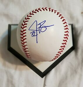 Reds Mets Phillies JAY BRUCE autographed signed Official Major League Baseball