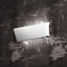Applique moderno bianco con vetro satinato a 4 luci tpl 1116/AP