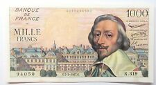 - 1000 Francs  - Richelieu - 7-3-1957 -