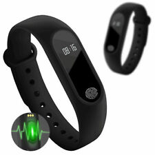 Bluetooth Smart Watch Fitness Bracelet Sport Activity Tracker Heart Rate Monitor