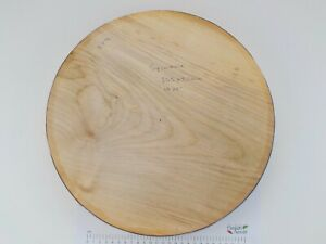 """One Large English Sycamore wood turning or carving bowl blank. 50mm (2"""") thick"""