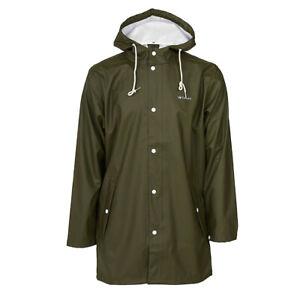 New Tretorn Wings Jacket Rain Coat Waterproof in Forest Green - Various Sizes