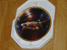 HAMILTON STAR TREK - THE VOYAGERS - COLLECTORS PLATE - CARDASSIAN GALOR WARSHIP