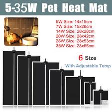 Adjustable Temperature Reptile Heating Heat Mat Heating Pad For Pet Ho