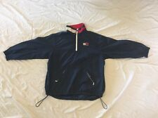 TOMMY HILFIGER Men's VTG 90s Windbreaker COLORBLOCK Jacket Sz XL