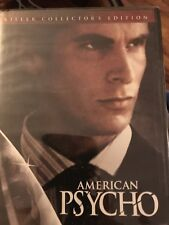 American Psycho Uncut Version Killer Collector's Edition Dvd Factory Sealed