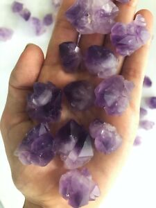Amethyst Flower Crystal Cluster Plate