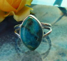 ANELLO ARGENTO 925 turchese Sleeping Beauty ARIZONA HL PIETRA der INDIANA