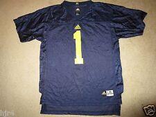 Michigan Wolverines #1 Adidas Football Jersey Youth XL 18-20