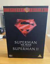 Superman The Movie 1 & 2 Collection Two DVD Box Set - Region 2