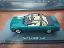 Neo 1/43 BMW 3er (E30) Baur green
