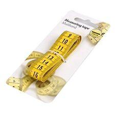 Corpo giallo misura 150 cm 1.5 METRO Sarto Righello Morbido FLAT misura da cucire