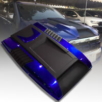 BONNET HOOD SCOOP BLUE MATTE MATT BLACK FOR FORD RANGER T6 PX2 MK2 2015 16 17 18