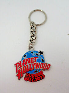 Vintage Planet Hollywood Puerto Vallarta Mexico Metal Keychain IMC Fotoball