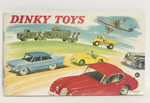 Dinky Toys Car original Catalogue catalog 1959 Canada England