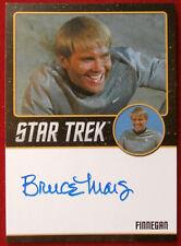Star Trek Tos 50th - Bruce Mars as Finnegan Limited Edition Autograph Card 2016