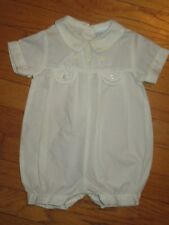 VTG BeBe Glynne Percy Embroidered Yellow Bubble/Romper Size 6 Months