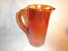 CARNIVAL GLASS TREE BARK PITCHER BY IMPERIAL GLASS ~ EXCELLENT CONDITION