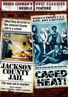 Jackson County Jail/ Caged Heat DVD NEW