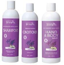 Biologika Lavander Shampoo, Conditioner & Body Wash 3 x 500 ml