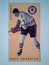 PHIL ESPOSITO  BLACK HAWKS '64-65 PARKIES TALL BOYS PRE-ROOKIE REPRINT CARD