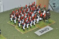 25mm napoleonic / french - young guard grenadiers 29 figures - inf (38067)