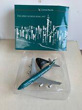 Herpa 1:400 Cathay Pacific 747-200 Spirit of Hong Kong 97
