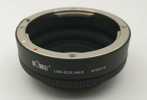 FITS Canon EOS EF Lens to Micro Four Thirds m4/3 mount adapter Olympus Panasonic