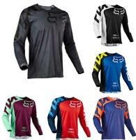 New FOX Race 180 Riding Jersey T-shirts Men Motocross/MX/ATV/BMX/MTB Dirt Bike
