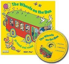 The Wheels on the Bus Go Round and Round + CD (Classic Books with-ExLibrary
