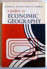 A Preface to Economic Geography by McCarty & Lindberg (1966, paperback)