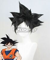 Dragon Ball Super Son Goku Kakarotto Black Anime Cosplay Wig
