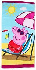 Peppa Pig Rosa Schwein Badetuch Tuch Handtuch Strandtuch 140 x 70 cm neu sunny